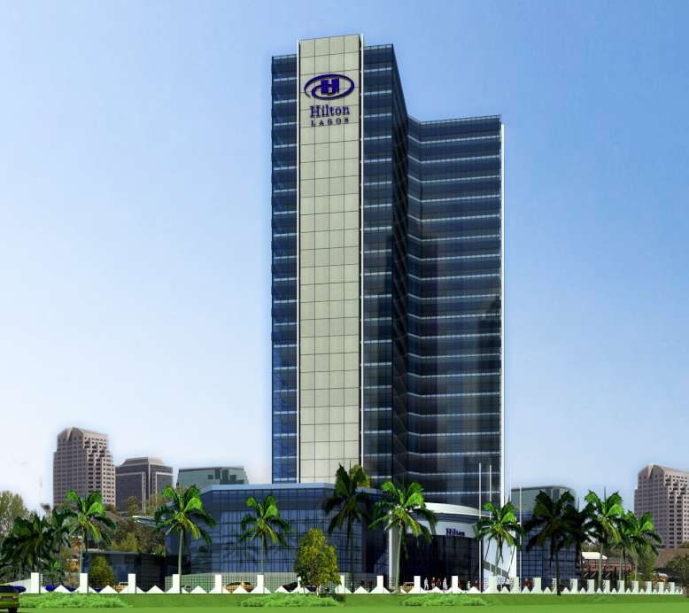 Proposed Hilton Hotel & Apartments, Lagos.