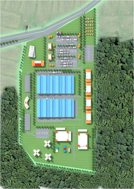 Proposed Industrial Distribution Park